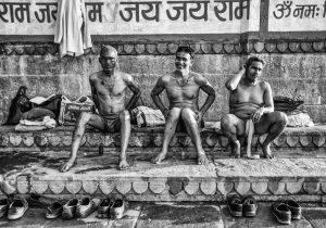 Ganga Bathers-