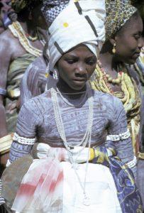 Togo Fe 15 - 04©Desjeux, cŽrŽmonie ŽwŽ ˆ Nuatja, kaolin