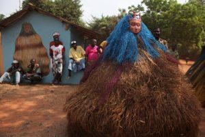 Togo Re_©Desjeux cŽrŽmonie de zangbeto