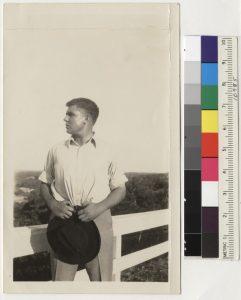 34 - REH - Fence profile 1931 - 1 - Bancroft
