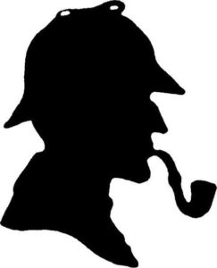Silhouette Sherlock