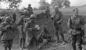 french soldiers captured