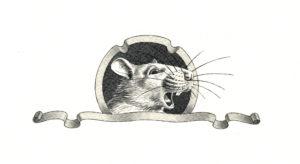 Illustration du Chemin de Rungis. Page titre (portrait de Rat Loukoum!)