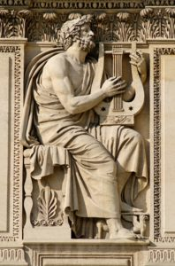 Homere statue