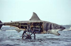 Jaws mechanical shark