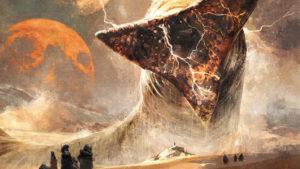 Dune, le mook, illustration intérieure, Fred Vignaux, éditions l'Atalante.