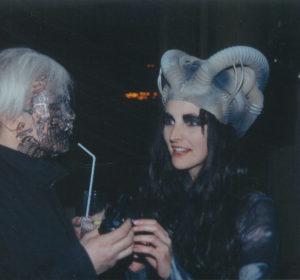 Giger & Sandra Beretta- Festival de Bruxelles 1994